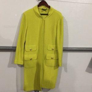 St. John wool sweater jacket